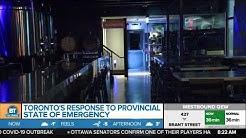 Mayor John Tory on Toronto's response to provincial state of emergency