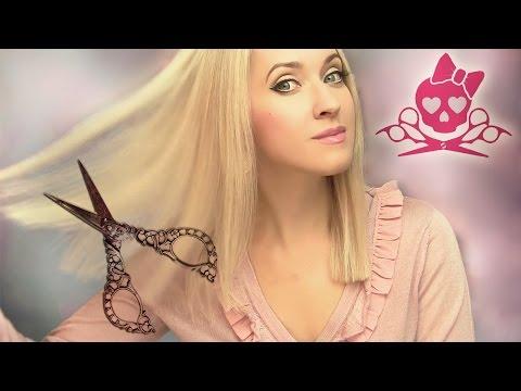 Как самой подровнять кончики волос