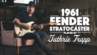 1961 Fender Stratocaster played by Guthrie Trapp