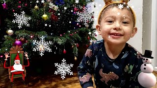 Tomy Goes Christmas Shopping | Decorate Christmas Tree | Tomy Getting Ready for Christmas