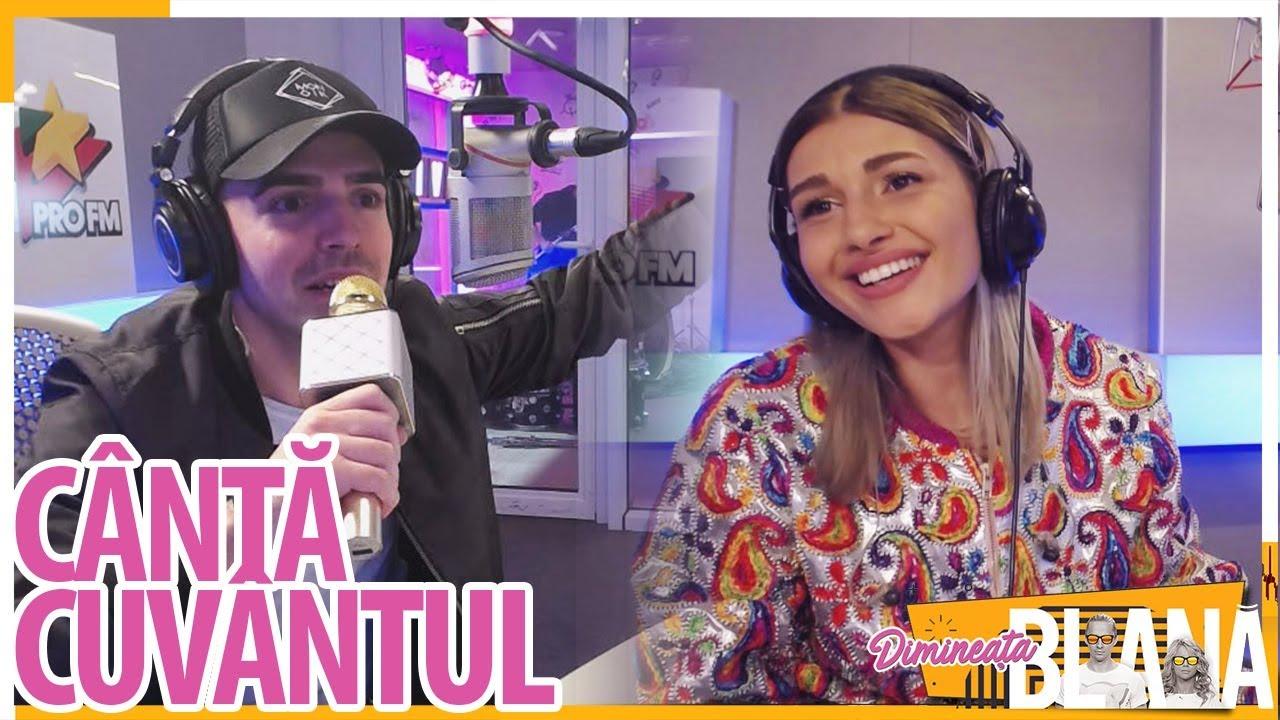 """Canta Cuvantul"" cu ALINA EREMIA și MONOIR | #DimineataBlana"