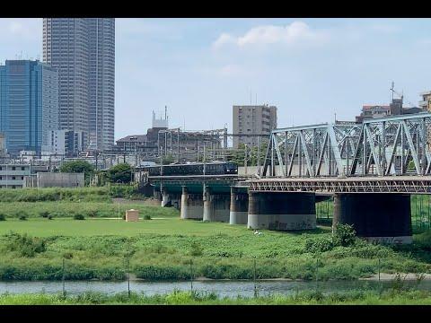相鉄 新型車両「12000系」新宿駅初入線前面展望ムービー