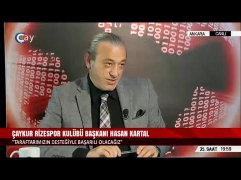 25. SAAT - HASAN KARTAL / ÇAYKUR RİZESPOR KULÜBÜ BAŞKANI - 14.11.2018