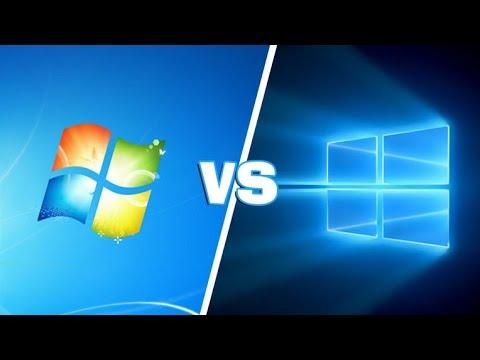 Сравнение производительности в майнкрафт - Windows 7 Vs Windows 10