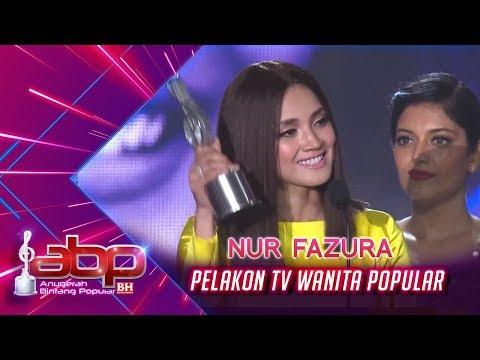 Nur Fazura  Pelakon TV Wanita Popular  ABPBH31