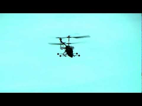 RC-Heli Cardinal with Micro Turbo Boosters on Sky Walk