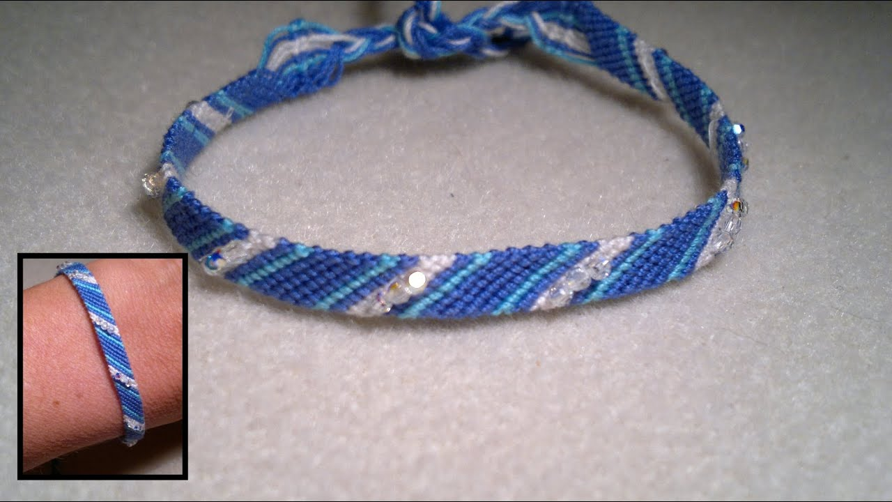macrame bracelet tutorial for beginners beading4perfectionists micro macrame friendship bracelet 7663
