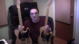 Squier Classic Vibe Telecaster vs Fender 52 Reissue Sound Shootout Results