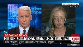 Vice News' Elle Reeve: Charlottesville marchers knew what they were doing (Full CNN interview)