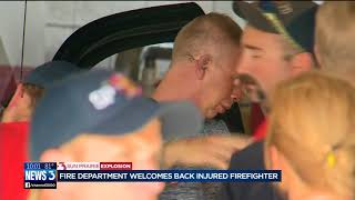 Sun Prairie Fire Department welcomes home injured brother while mourning another