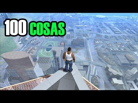100 COSAS QUE DE SEGURO HICISTE EN GTA SAN ANDREAS