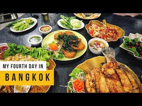 LEGIT THAI FOOD + HORRIBLE STORY WITH FRIENDS | VLOG 4