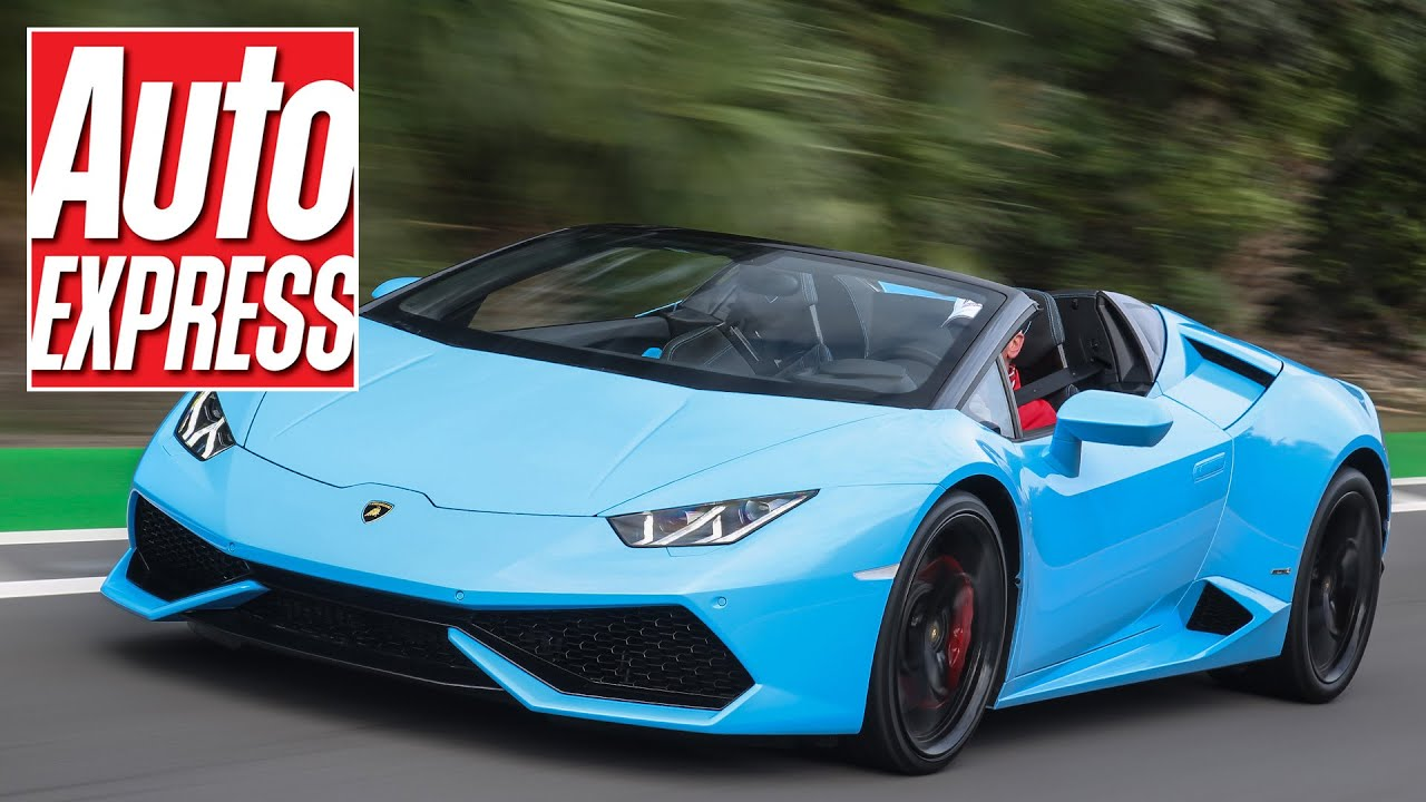 lamborghini huracan spyder review the best looking roadster on sale youtube