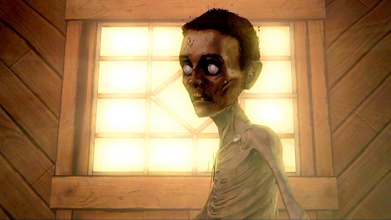 Image result for Walking dead attic boy looks like duck