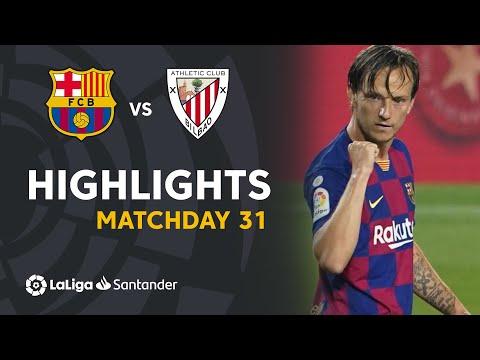 Highlights FC Barcelona vs Athletic Club (0-1)