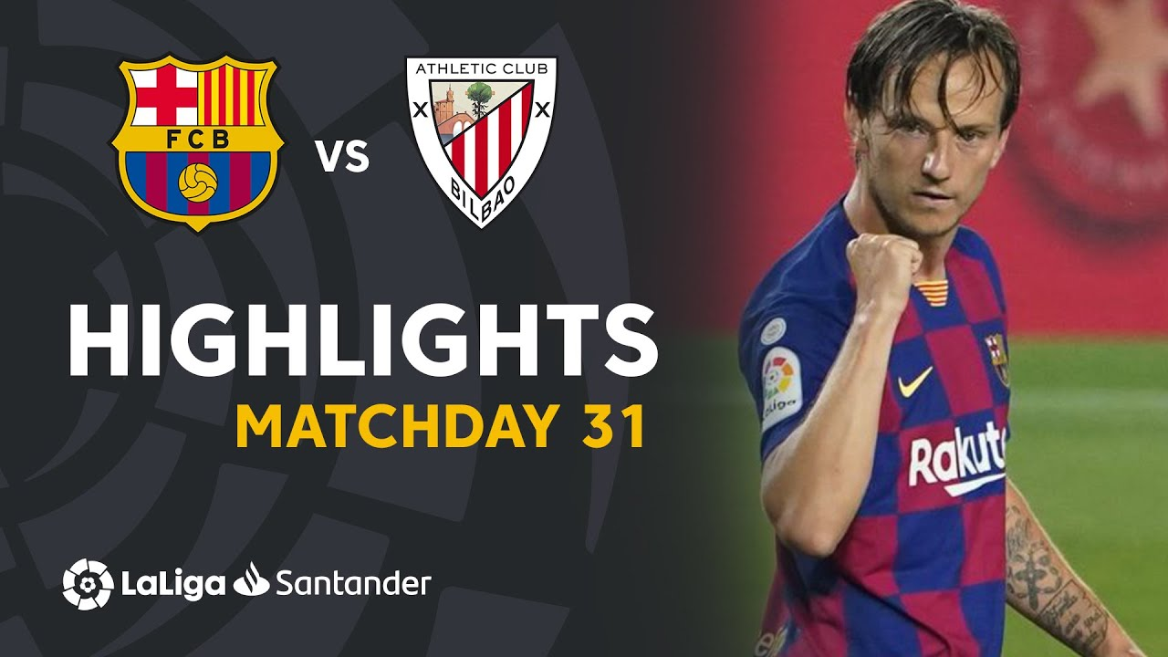 Барселона  1-0  Атлетик видео