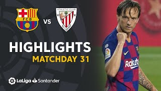 Highlights FC Barcelona vs Athletic Club (0-1)