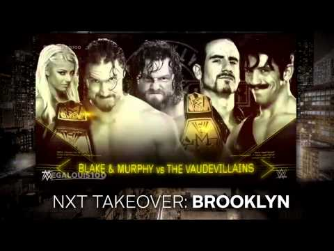 2015 | WWE NXT Takeover: Brooklyn Full and Official Match Card - HD