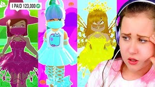 I Played The ONE COLOR OUTFIT Challenge With My Hater and BFF.. Roblox Royale High