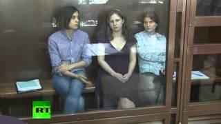 Дело Pussy Riot разделило российское общество(Панк-молебен Pussy Riot в Храме Христа Спасителя не оставил равнодушным российское общество: кого-то оно возмут..., 2012-08-17T12:40:39.000Z)