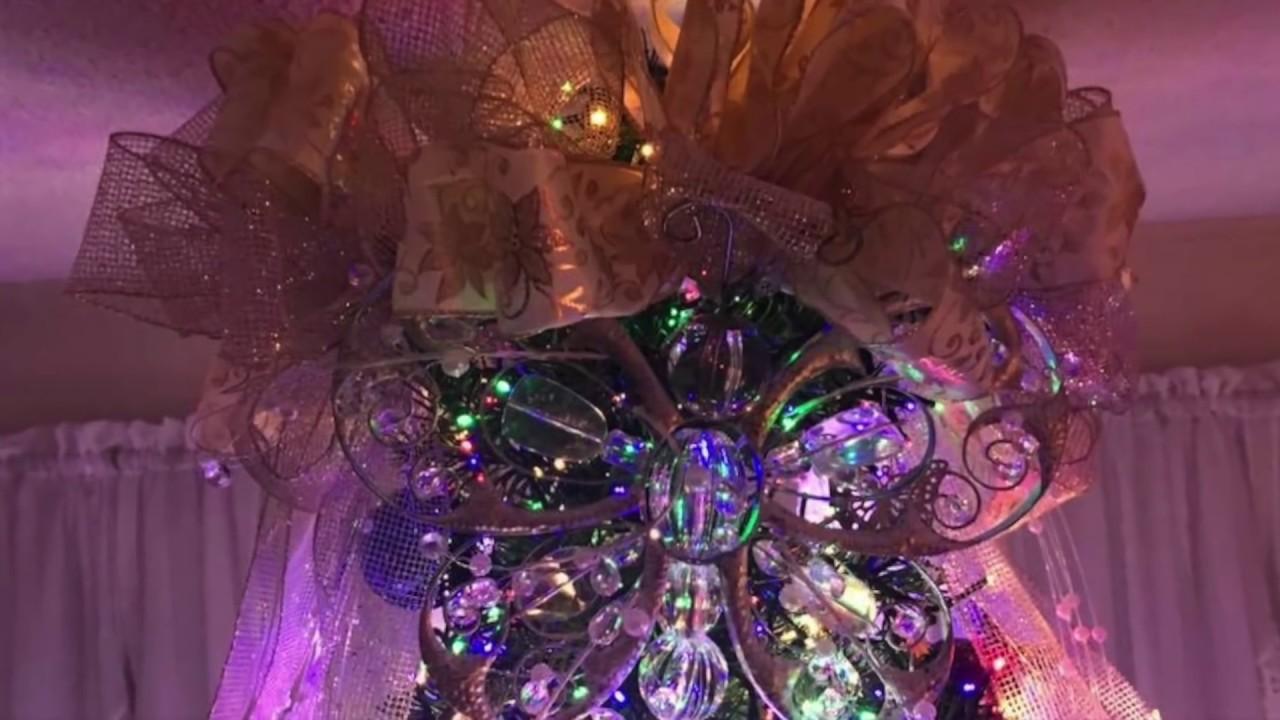 Lilac Christmas Decorations