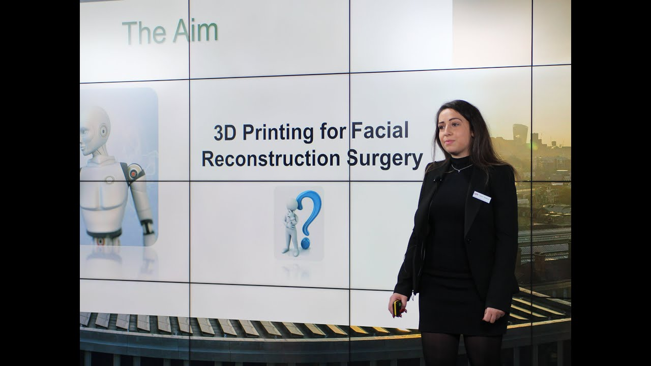 Presentation on 3D printing for facial reconstruction by Nazanin Owji & Taleen Shakouri