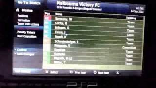 FOOTBALL MANAGER HANDHELD 2011 : UNBEATABLE FORMATION!!!!