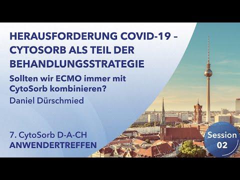 ECMO | 7. CytoSorb Anwendertreffen D-A-CH | Daniel Dürschmied