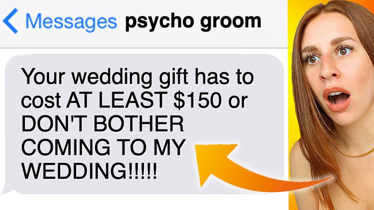 Entitled Grooms That Got CALLED OUT On Social Media #groomzillas - REACTION