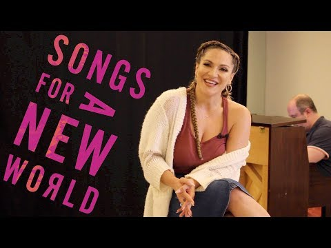 Songs for a New World preview with Shoshana Bean