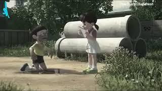 "Tere Ishq Mein tha Jiya ""nobita Shizuka sad song"""