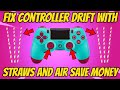 Fix Controller Drift With A Straw, Save Money