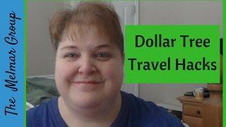 Dollar Tree Travel Hacks