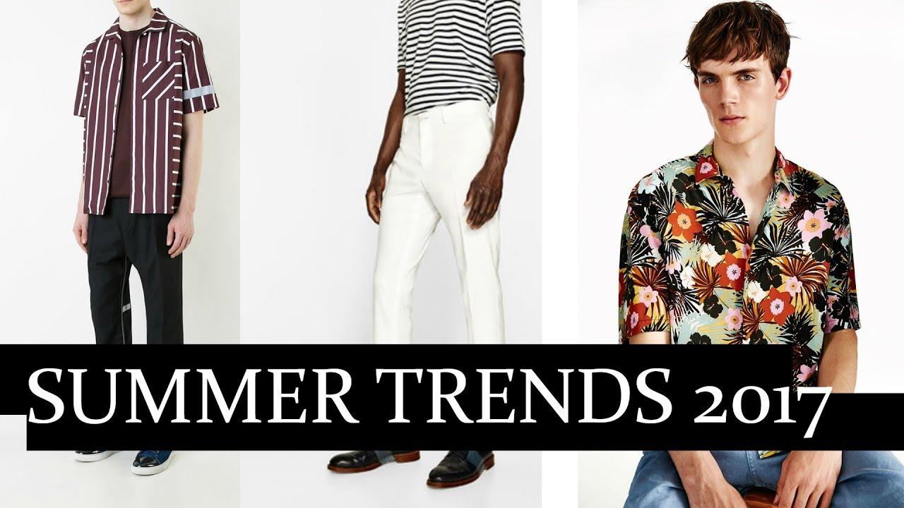 5 Summer Trends for Men