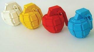 Sadece Bir Kağıt Kullanarak 2 Farklı Yoldan Bomba Yapımı / Kağıttan Bomba Nasıl Yapılır ?