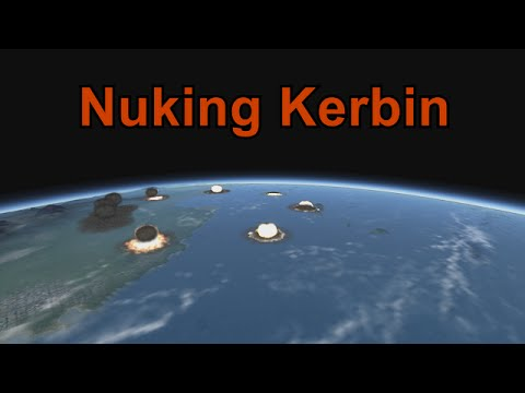 KSP - Nuking Kerbin