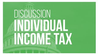 Talking Tax Reform: Reforming the Individual Income Tax