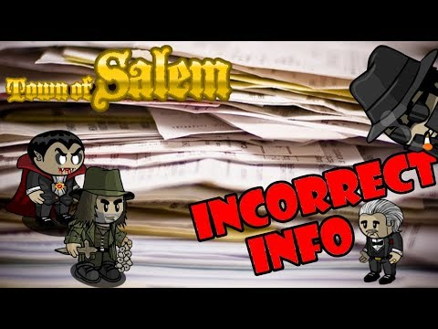 Town of Salem: Incorrect Info
