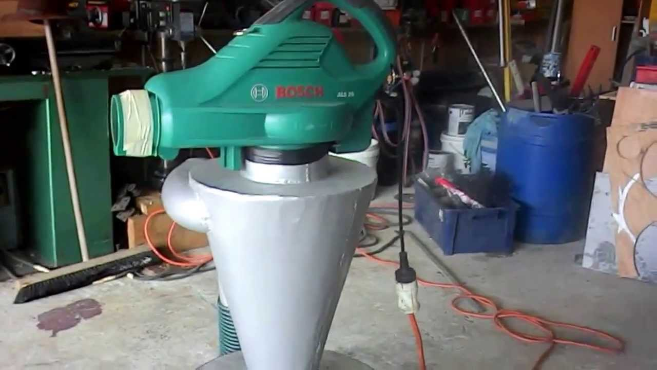 Cyclone Shop Vac Homemade Youtube