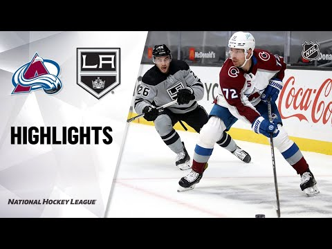 Avalanche @ Kings 5/8/21 | NHL Highlights
