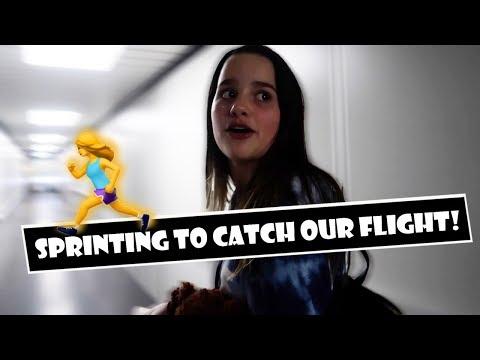 Sprinting To Catch Our Flight 🏃 (WK 377.2)   Bratayley