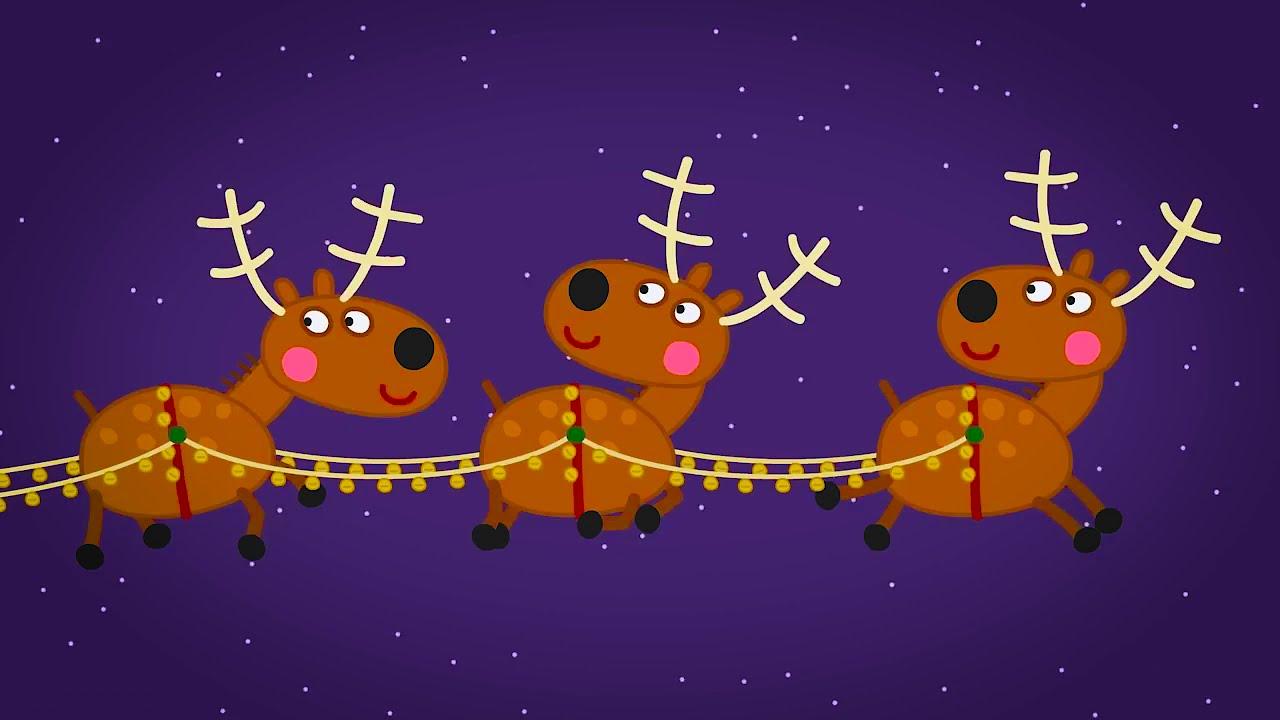Pepa pig   გოჭი პეპა   ახალი წელი სიმღერა ჯინგლბე
