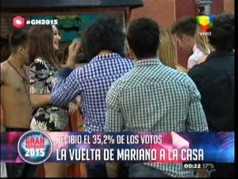 """""""Gran Hermano 2015"""": Mariano reingresó a La Casa junto a una nueva participante"""