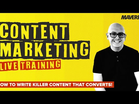 How To Write Content That Converts - Live Training