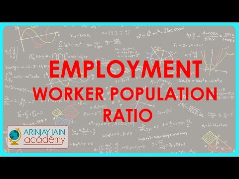 504.Class XI - CBSE, ICSE, NCERT -  Employment - Worker Population Ratio