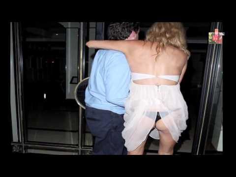 Brandi Glanville Nip Slip & Panties Flash