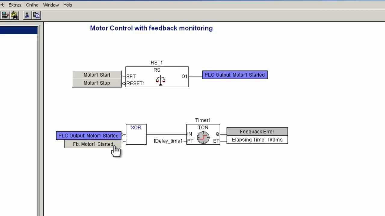 ABB AC500 PLC First Visualization