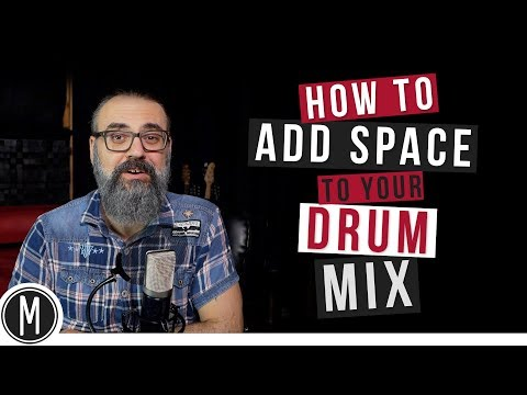How to add SPACE to your DRUM MIX - mixdown.online