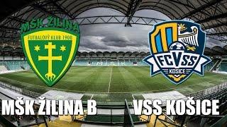 Zilina B vs Kosice full match