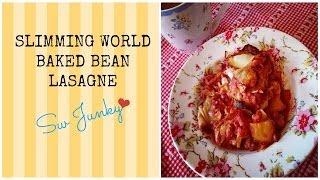 Slimming World Recipe Baked Bean Lasagne